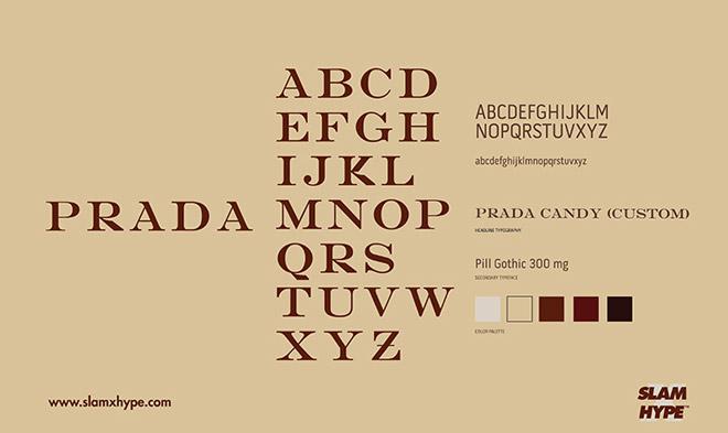 国际大牌官方在使用什么英文字体,24款时尚品牌字体分享!
